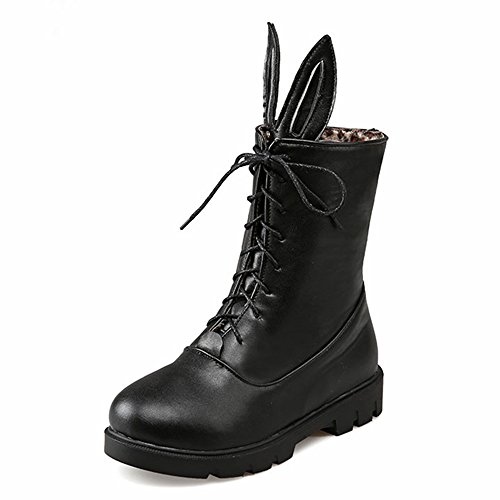 Fashion HeelMid-calf Boots - Botas mujer negro