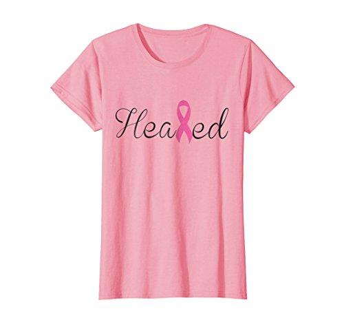 Survivor Cancer T-shirt Pink Womens (Womens Breast Cancer Survivor Tshirt Pink Ribbon Never Give Up Tee XL Pink)