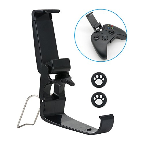 XBox One Phone Clip, VANDESAIL Game Pad Joystick Phone Clip with Stand for iPhone Samsung Sony (Xbox One Controller, Cell Phone Holder)