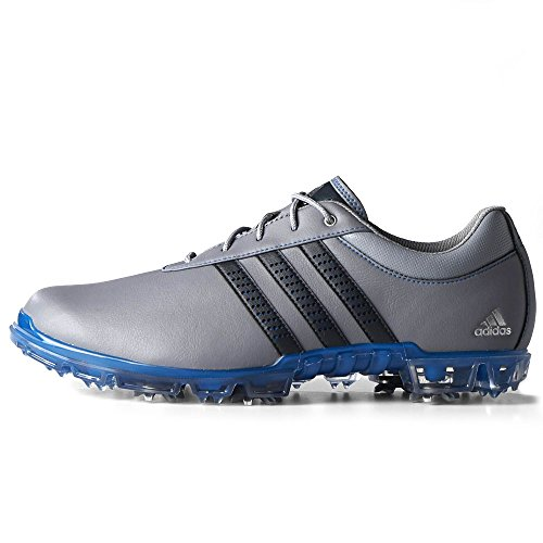 Adidas Adipure Flex Golf Shoes Grey/Blue 7 Medium -mens golf shoe ...