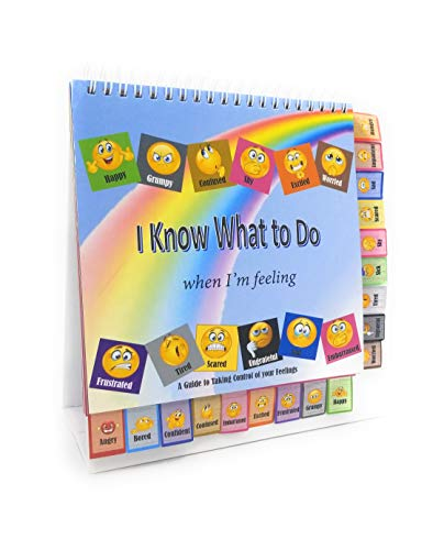 - Thought-Spot I Know What to Do Cards for Taking Control of Your Feelings/Emotions; Helps Children Identify Their Feelings & Emotions; Hardcover and Laminated