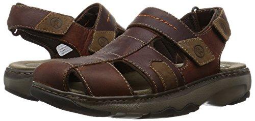 5b64938e72e9 Clarks Raffe Bay - Brown Leather Mens Sandals 8 US  Amazon.ca  Shoes    Handbags