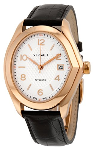 Versace Men's 20A380D001 S009 Master Analog Display Automatic Self Wind Black Watch