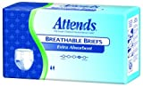 Attends Incontinence Care Briefs for Youths, X-Small, 24 count (Pack of 4)