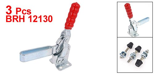 Uxcell Quick Release Holding Vertical Toggle Clamp with 227 kg//500 lb Capacity 3 Piece