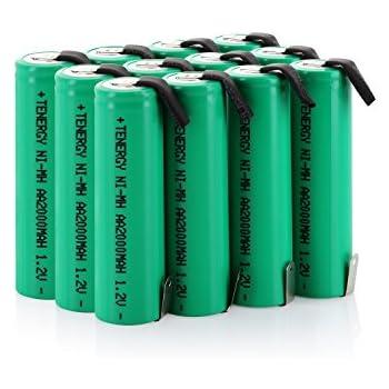 Amazon.com: uxcell 4 Pcs 1.2V 1300mAh AA Ni-MH Battery