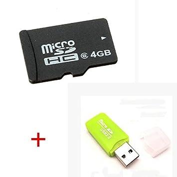 BliliDIY Tarjeta Micro SD De 4Gb con Lector De Tarjetas para ...
