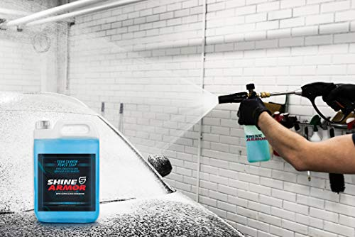 SHINE ARMOR Car Wash Soap Cleaner variation (128 oz)