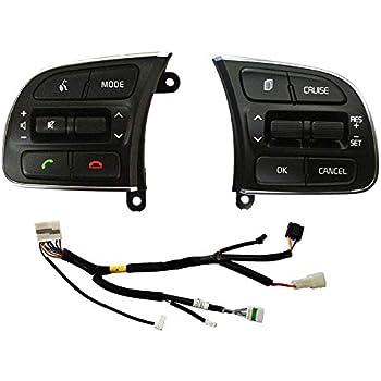 Steering wheel Bluetooth Switch Control 4P 1SET For KIA SPORTAGE 2011 2012 2016