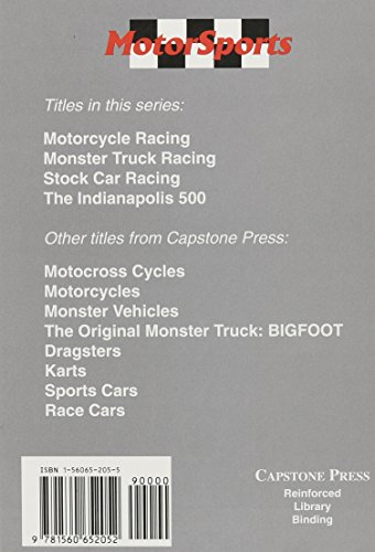 The Indianapolis 500 (MotorSports) by Brand: Capstone Press (Image #1)