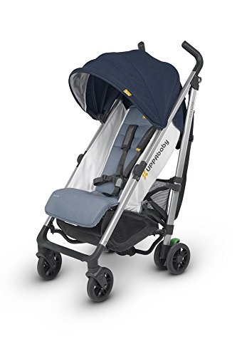 2018 UPPAbaby G-Luxe Stroller -Aidan (Denim/Silver)