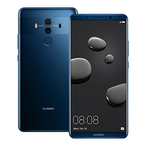 Huawei Mate 10 Pro (BLA-L29) 6GB / 128GB 6.0-inches LTE Dual SIM Factory Unlocked – International Stock No Warranty (Midnight Blue)