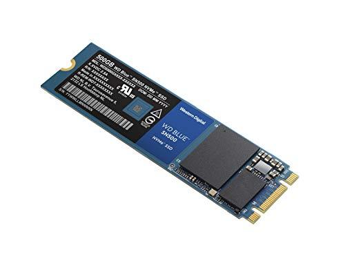 WD Blue SN500 500GB NVMe Internal SSD - Gen3 PCIe, M.2 2280, 3D NAND - WDS500G1B0C by Western Digital (Image #2)