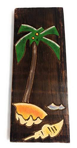 Palm Tree & Seashells Relief 12