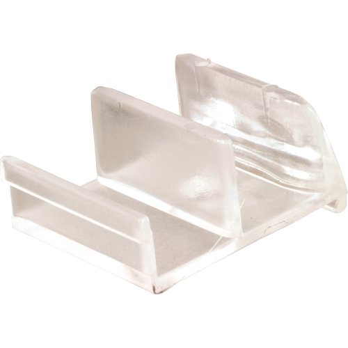 high-quality Prime-Line Products 193074 Shower Door Bottom Guide, Clear Acrylic