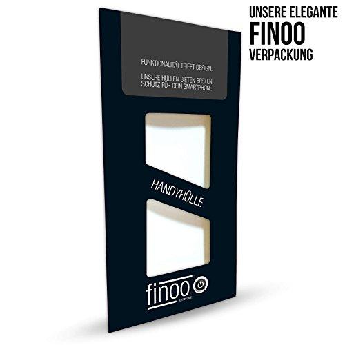 FINOO | iPhone 7Plus Custodia del Telefono in silicone morbido flessibile | Trasparente TPU Cover rigida con motivo | Borsa Case Custodia con ultra slim protezione completa | Mr Casanova