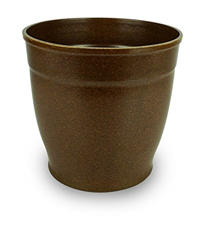 Eco-Friendly Biodegradable Rice Hull Pot- Nova 7 Mocha (Rice Hull Garden)