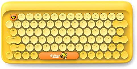 Tablet Bluetooth teclado mecánico inalámbrico retro móvil ...