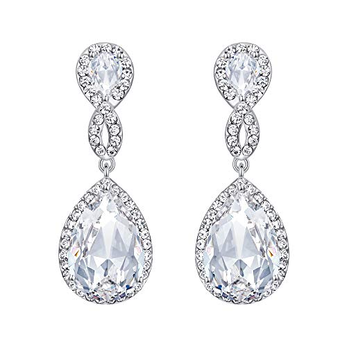 EVER FAITH Women's Rhinestone Crystal Elegant Wedding
