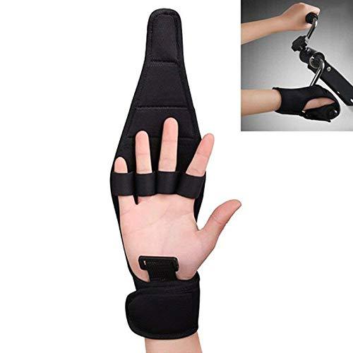 (Enshey Finger Rehabilitation Gloves-Brace Elderly Fist Stroke Hemiplegia Hand Training for Stroke Hemiplegia Patient and Athlete)