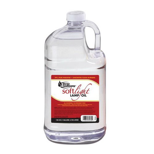 Sterno Candle Lamp Soft Light Lamp Liquid Fuel Clear | 4/Case by Sterno Candle Lamp