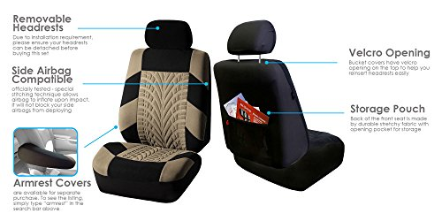 Buy car seat covers airbag compatible