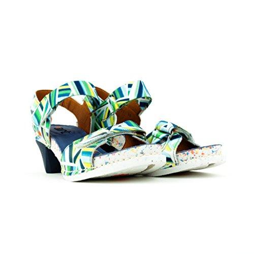 The Art Company - Sandalias de vestir para mujer estampado