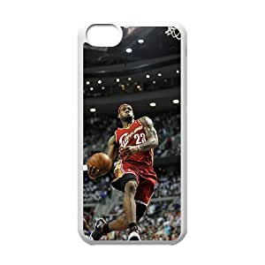 YUAHS(TM) DIY Cover Case for Iphone 5C with LeBron James YAS132677