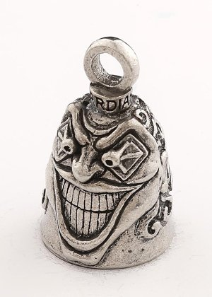 Guardian Bell Insane Clown with Custom Gift Box Harley Biker Bell Ride to Live