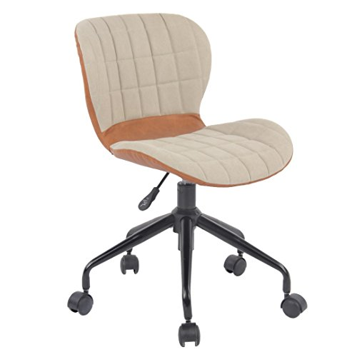 Porthos Home Sophia Office Chair, Cream