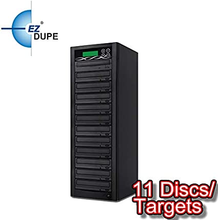 EZ Dupe EZD1TDVDLGB Professional 1 Target 24x DVD//CD Duplicator Optical Drive 2.5
