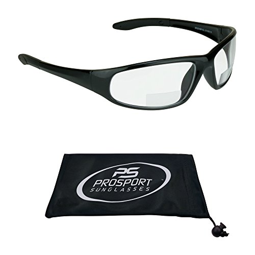 Bifocal Sunglasses with ANSI Z87.1 Safety Smoke, Clear, Yellow or High Definition Copper Lenses for Men and Women.