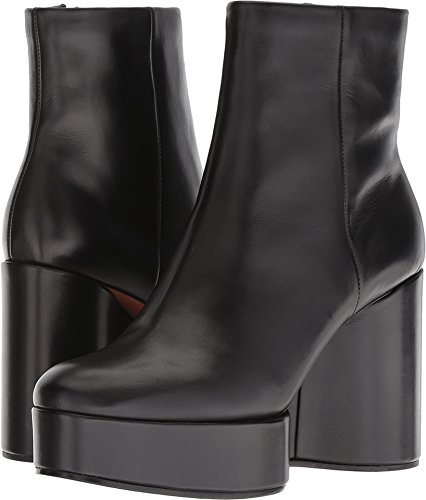 Clergerie Women's Belen Black Leather Calf 41.5 M EU