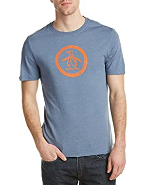 Men's Triblend Circle Logo T-Shirt