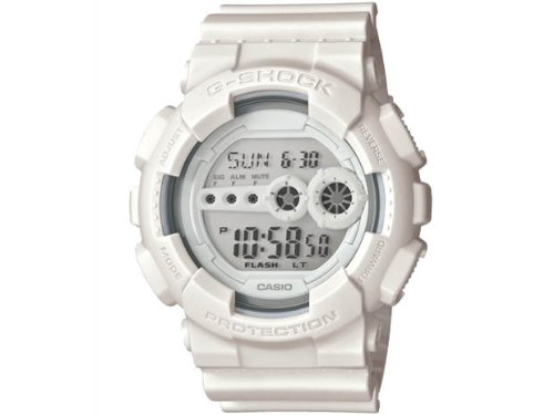 G Shock GD 100W Watch Whiteout Limited