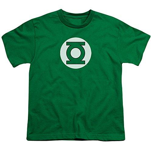 Dc Green Lantern Logo Unisex Youth T Shirt for Boys and Girls, Medium]()