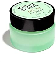 Eight Saints All In Eye Cream, Natural and Organic Anti Aging Eye Cream to Reduce Puffiness, Wrinkles, and Und