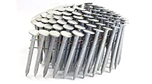 "1 3/4"" RING A153-D HOT DIP COIL ROOFING NAILS 1.2M RoofPak from FastenerUSA"