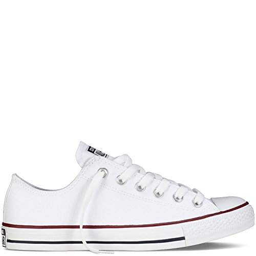 Converse Unisex Chuck Taylor All Star Ox Sneakers Optical White M7652 (All Shoes Converse White)