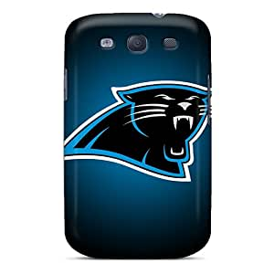 LauraAdamicska Samsung Galaxy S3 High Quality Hard Phone Cases Customized High Resolution Carolina Panthers Series [XOP3005hebH]