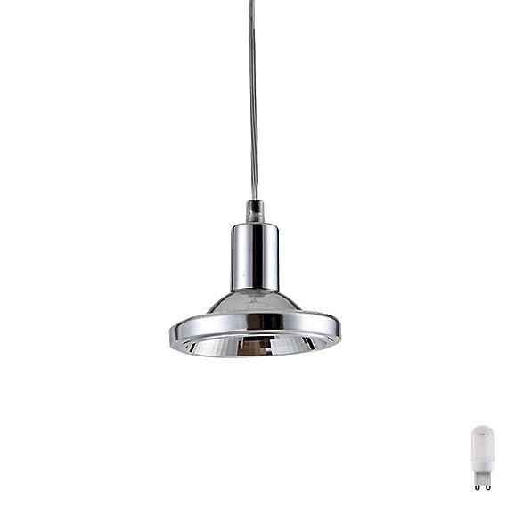 Led Design Pendel Leuchte Schienen System Hange Decken Lampe Chrom
