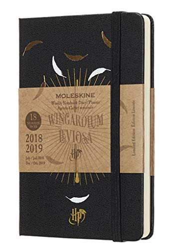 Moleskine Limited Edition Harry Potter 18 Month 2018-2019 Weekly Planner, Hard Cover, Pocket (3.5