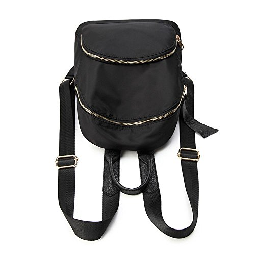 Aoligei Voyages d'agrément en trajet simple double sac à bandoulière sac à dos version coréenne sac d'étudiant marée