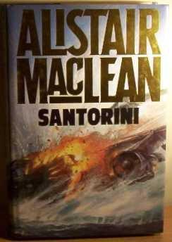 book cover of Santorini