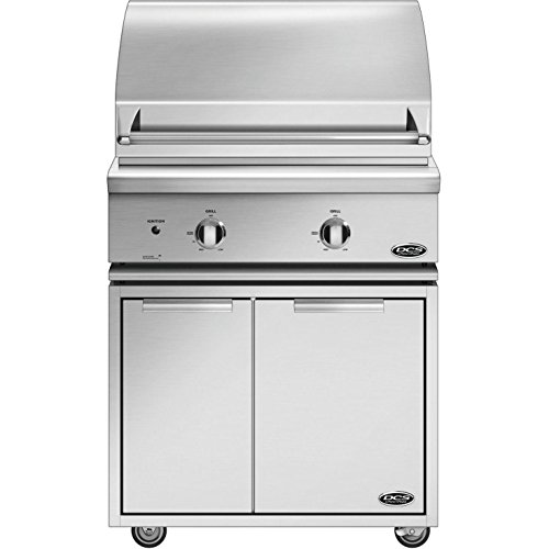 (Dcs Professional 30-inch Freestanding Natural Gas Grill On Dcs Cad Cart - Bgc30-bq-n)