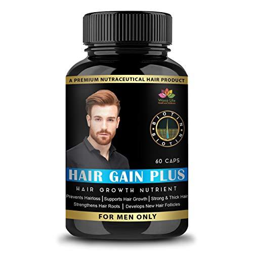Woxalife Hair Gain Plus All Natural Hair Loss Supplement For