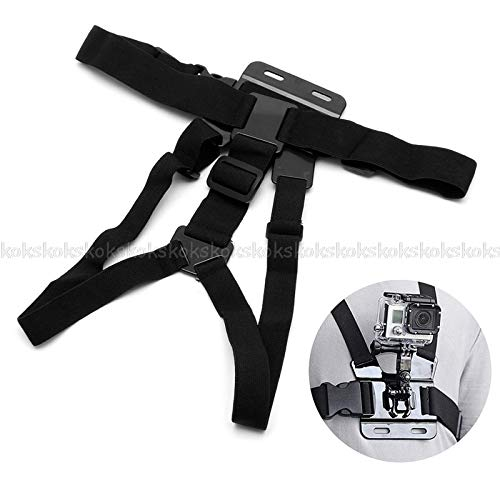 JohnnyBui Adjustable Chest Belt Body Strap Mount Harness For Hero 4/3+/3/2/1 Camera JUL26 by JohnnyBui