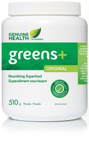 GENUINE HEALTH Greens+ Greens, 510 Gram