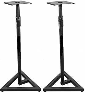 Studio monitor speaker stands adjustable for Yamaha hs5 speaker stands