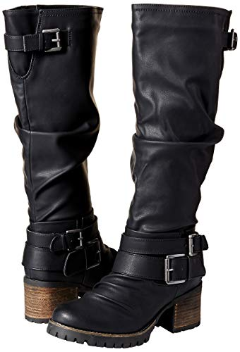 Black Santana Gwyneth Boot Carlos Carlos Fashion Women's by q0aUUz
